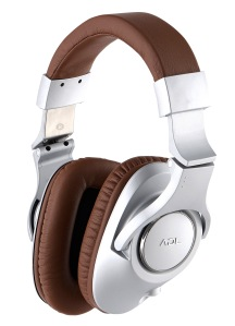 ADL H-128 headphone silver & brown