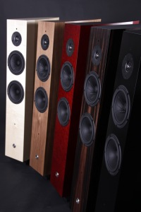 Gamut M5 loudspeaker - all finishes