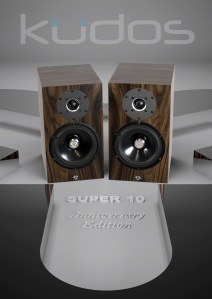 Kudos Cardea Super 10 loudspeaker