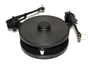 Timestep M10-DP dual tonearm mounting plate
