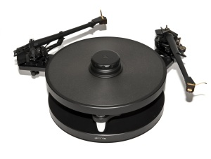 Timestep M10-DP dual tonearm mounting plate