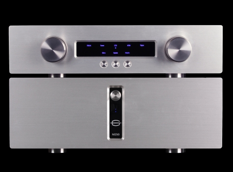 Gamut D3i and M250i pre and power amps