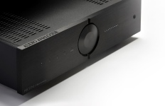 Audio Analogue Puccini Anniversary amplifier black close up