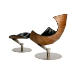 Gamut Lobster Chair and Footstool