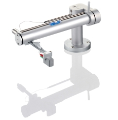Clearaudio TT5 tangential tonearm in silver