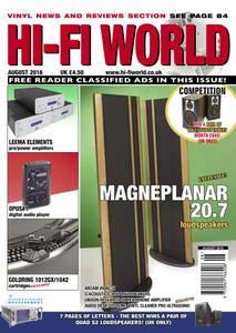 Hi-Fi World August 2016