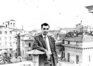 Alberto Albertini in Rome, 1955