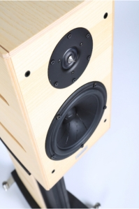 Gamut RS3i loudspeaker - with natural finish