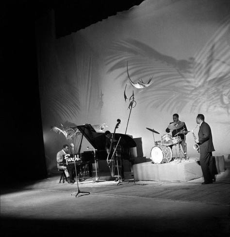 Thelonious Monk & his band - Teatro Lirico - Milan 21-Apr-1961