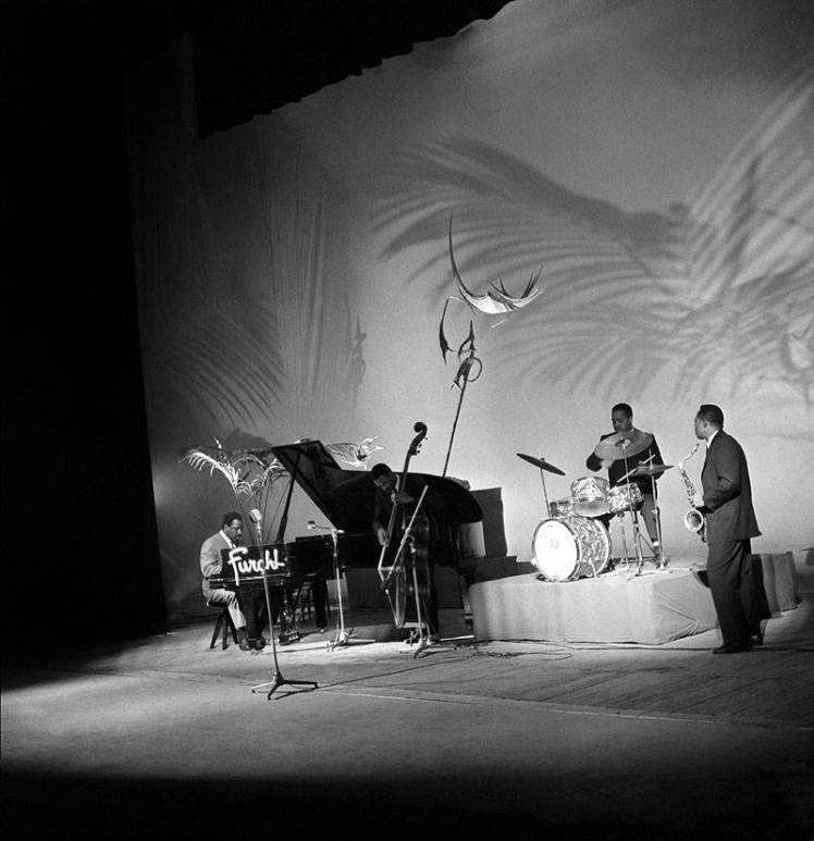 Thelonious Monk & his band - Teatro Lirico - Milan 21-Apr-1961