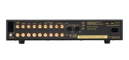 Exposure 5010 series: preamp (rear view, black finish)
