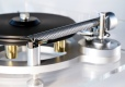 The Wand by DBL on Michell Gyrodek turntable (close-up)