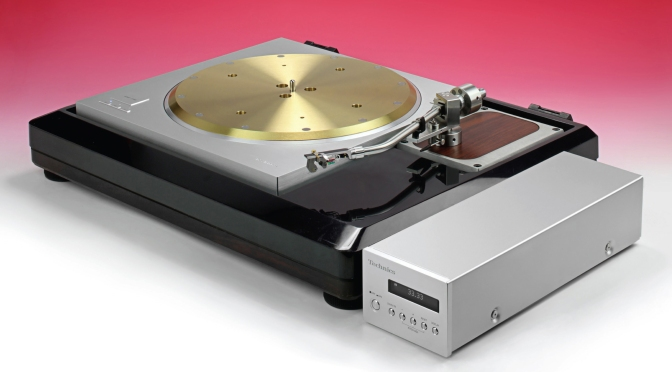 Hi-Fi World Turntable of the Year Award-winner Technics SP-10R features Glanz MH-104S tonearm