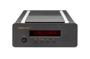 Exposure XM CD player - black front above
