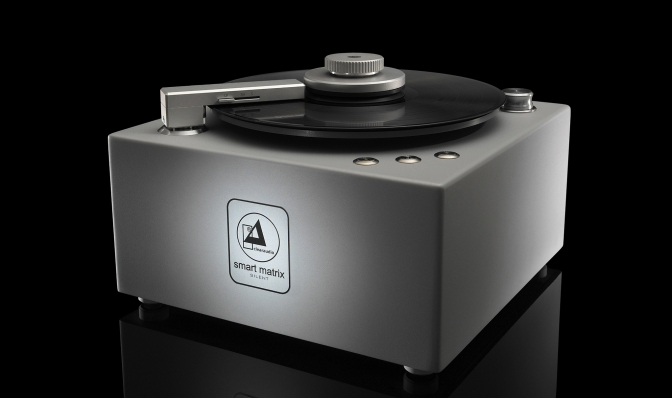 New Clearaudio Smart Matrix Silent record cleaning machine