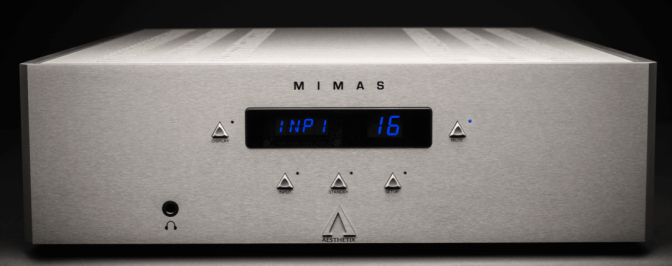 """A triumph"": Aesthetix' Mimas integrated amplifier ""could easily seduce the separates purist,"" says Hi-Fi News"