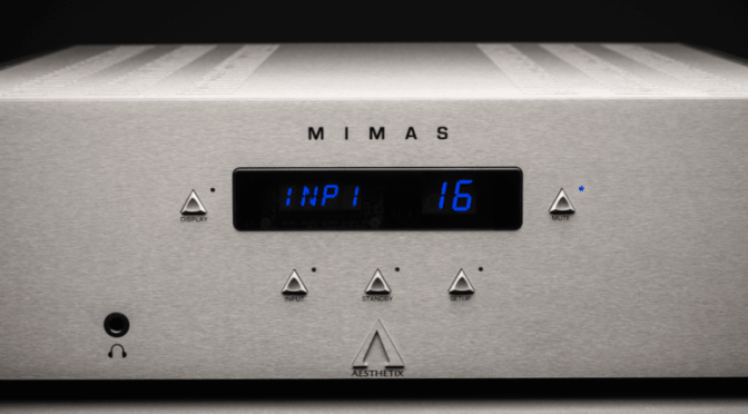 """The very definition of what I am seeking today in an integrated amplifier"": The Absolute Sound is over the moon with the Aesthetix Mimas"
