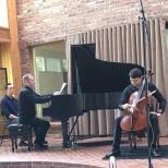 UltraAnalogue's Ed Pong records Armenian cellist Narek Hakhnazarya