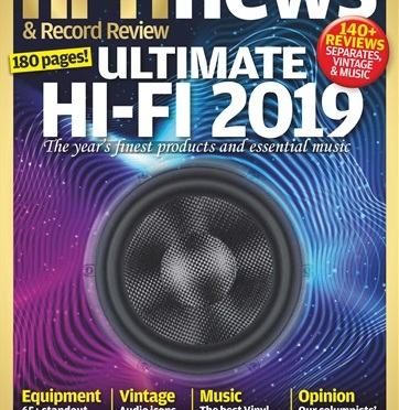 Aesthetix Mimas integrated amp and DS Audio's DS-E1 optical phono cartridge in Hi-Fi News Yearbook 2019