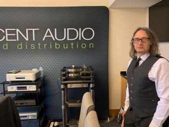 Decent Audio's Simon Griffin with Kronos and Ayre