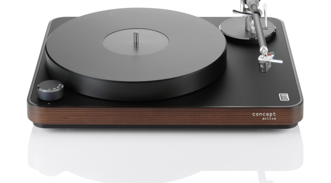 Multi-award winning Clearaudio Concept turntable package now launched in new Active edition
