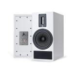 Kerr Acoustic K300 white back and front