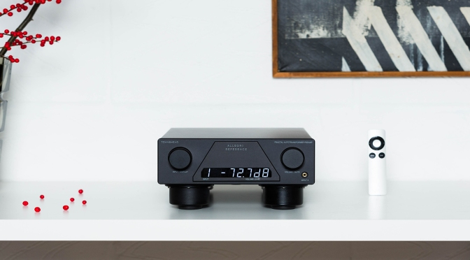 """""""At, or very close to, the state of the art"""": HiFi Critic reviews Townshend's Allegri Reference preamplifier"""