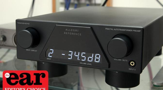 Hi-Fi Plus Preamplifier of the Year: Townshend Allegri Reference
