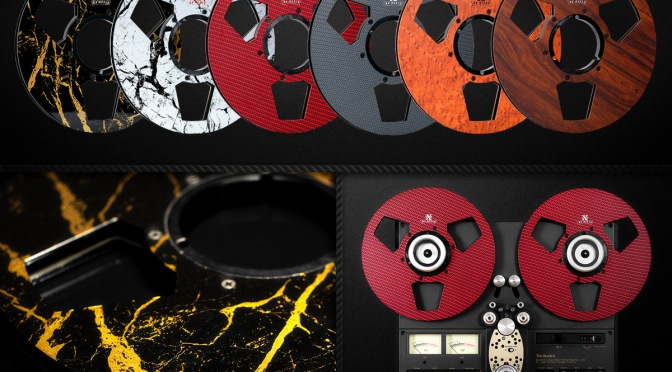 New carbon fibre tape reels from RX Reels combine high performance with good looks